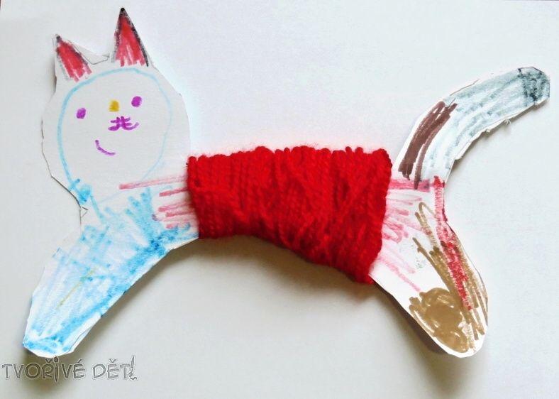 Kočička z papíru