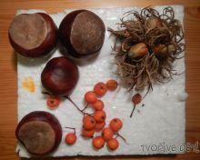 Podzimní 3D koláž pro nejmenší