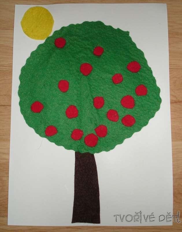Stromeček z plsti