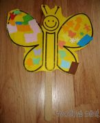 Tvoření - motýlek na špachtli