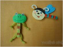 tvoření - Veselé kolíčky
