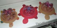 Tvoření z PET lahve - ŽELVIČKA