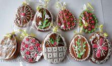 Zdobení velikonočních perníčků - inspirace