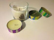 Malování na svíčky a na sklo