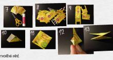Kytičky z obalů od čajových pytlíčků - tvoření s dětmi