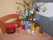 Velikonoční výroba dekorace