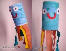 Chobotničky z papíru