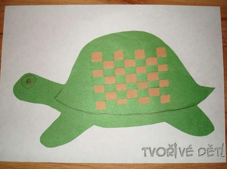 Provlékací obrázek - Želvička