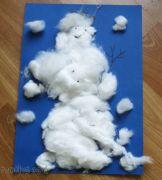 Sněhulák z papíru a vaty II