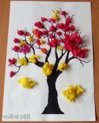Stromek z papíru