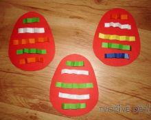 Tvoření velikonoční vajíčka