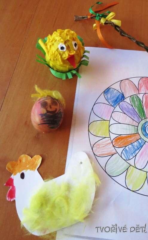 Velikonoční tvoření s dětmi - inspirace